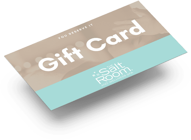 A gift card from the salt room orlando